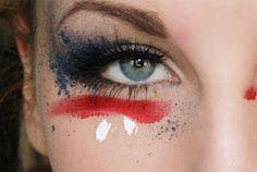 American flag - Hiilens sminkblogg
