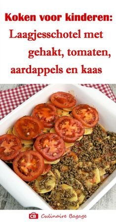 Oven dish with minced meat, tomato, potato and cheese! Mince Dishes, Oven Dishes, Pasta Dishes, Low Carb Low Calorie, Benefits Of Potatoes, Tomato And Cheese, Mince Meat, Beef Steak, Budget Meals