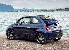 Fiat 500 Riva Cabriolet. Limited edition model