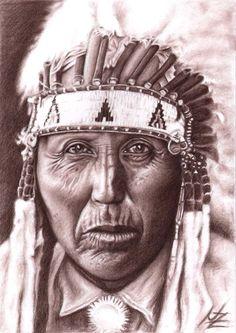 Cherokee   Cherokee Häuptling   american braun cherokee