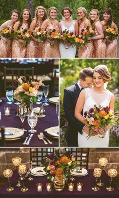 Katie & Josh's Glamorous Fall-Toned Wedding at NOAH'S Event Venue in Lake Mary, Florida   Photo by Concept Photography   www.NOAHSWeddings.com