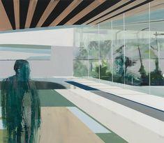 Kenneth Blom · Skog · 2009 · 140 x 160 cm