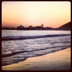 Malibu sunset malibu pier