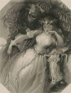 Grabados victorianos, Mujeres, inicio 1800