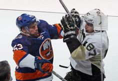 Sidney Crosby Pittsburgh Penguins vs New York Islanders March 29