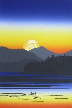 """Tofino Sunrise"" Roy Henry Vickers"