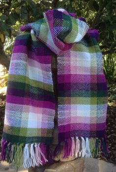 Jewel colour scarf £45.00