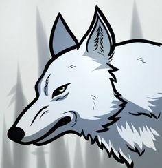 How to Draw Kiba Wolf, Wolfs Rain, by dorian massena