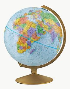 Explorer World Desk Globe Assorted Co…