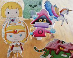 Topper, Shabby Chic, Man, Smurfs, Princess Peach, Kawaii, Cartoons, Fictional Characters, Design
