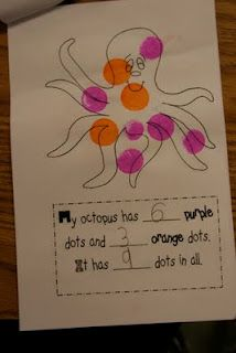 Similar idea with whatever theme...great for 'Writing' rotation in Daily 5 Math