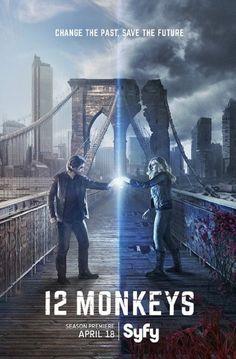 12 Monkeys (2015 - ) Aaron Stanford, Amanda Schull, Kirk Acevedo, Barbara Sukowa ...
