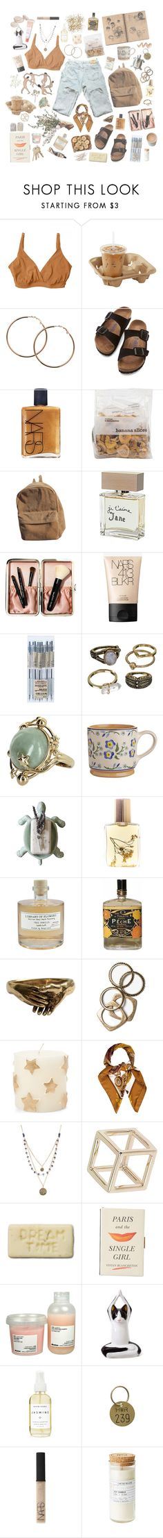 """""""you've got the love"""" by blusargnt ❤ liked on Polyvore featuring Bella Materna, Melissa Odabash, Birkenstock, NARS Cosmetics, Bella Freud, Bobbi Brown Cosmetics, Mudd, Vintage, Dot & Bo and Flidais Parfumerie"""