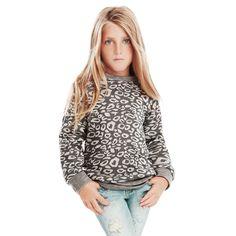 Principessina imbronciata, maglioncino chic a fantasia. #OVS #OVSaw15 #OVSkids #OVSknitewear