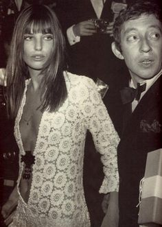 Jane Birkin, love her,  along with Serge Gainsbourg, love his French music