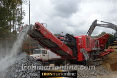 "2014 J 1175 Finlay Jaw Crusher delivered to Port, NJ in New Jersey ""ironmartonline.com"""