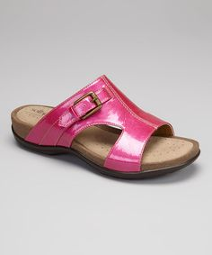 Look what I found on #zulily! Berry Patent Caileen Slide by Softspots #zulilyfinds