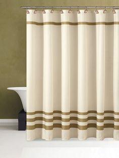 Bleecker Fabric Shower Curtain