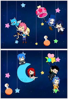 First I will say that this is absolutely adorable, and now, I will fangirl over Jellal.