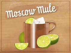 Moscow Mule ist keine russische Erfindung, sondern eine Erfolgsgeschichte aus Hollywood. In der Originalvariante besteht der Highball aus Wodka, Ingwerbier und Limettensaft