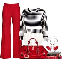 CHERRY JUICE by lisa-holt on Polyvore featuring 10 Crosby Derek Lam, H&M…