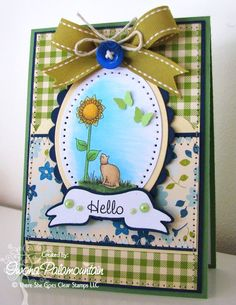 Created by Iwona Palamountain! There She Goes, Mo Manning, Dog Cards, Great Hobbies, Card Making Inspiration, Clear Stamps, Envelopes, Handmade Cards, My Design