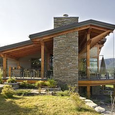 Windermere Lakeside Residence - contemporary - exterior - vancouver - site lines architecture inc.