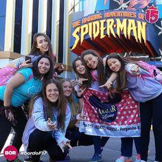 Sólo sonrisas llenas de aventuras!  Vamos con todo #Disney!#bordoF17