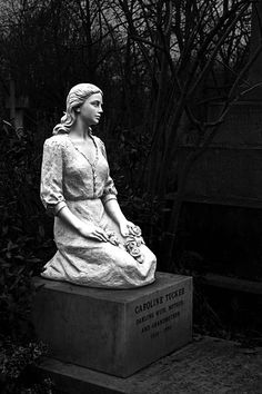 Caroline Tucker Birth 1910 England Death 1994 (aged Greater London, England Burial Highgate Cemetery (East) Highgate, London Borough of Camden, Greater London, England Memorial ID 55748745 · View Source Cemetery Monuments, Cemetery Statues, Cemetery Headstones, Old Cemeteries, Cemetery Art, Angel Statues, Graveyards, Steinmetz, Cemetery Angels