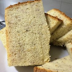 Banana Chiffon Cake (cooked dough) – Jeannietay's Blog