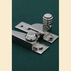 Nickel Sash Fastener with a Beehive knob http://www.priorsrec.co.uk/nickel-sash-fastener-beehive/p-12-38-74-380