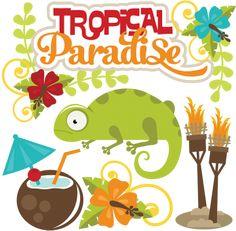 Tropical Paradise SVG