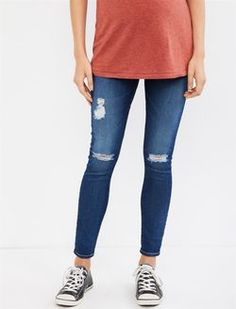 5a298d0dcb26 AG Secret Fit Belly Legging Ankle Maternity Jeans- 11 Years Swapmeet