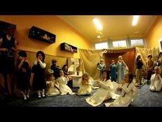 Vánoční představení ve školce Slezská - YouTube