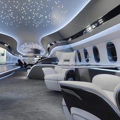 Luxury private jets black & luxus-privatjets schwarz & j Jets Privés De Luxe, Luxury Jets, Luxury Private Jets, Private Plane, Dassault Falcon 7x, Boeing Business Jet, Airplane Interior, Private Jet Interior, Aircraft Interiors