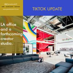 With a new LA office and a forthcoming creator studio, TikTok is poised to take on Instagram and YouTube. Creator Studio, The Creator, Banner, Graphic Design, Youtube, Instagram, Banner Stands, Banners, Youtubers