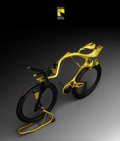 INgSOC hybrid bike concept   Edward Kim and Benny Cemoli