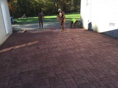 Stamped Concrete Blacksburg VA