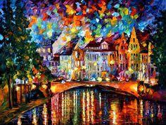 Sky Of Amsterdam Painting  - Sky Of Amsterdam Fine Art Print