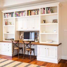 Built-In Desk Reveal | Desks, Built ins and Room