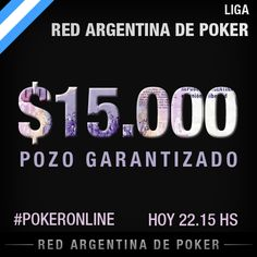 2do Lunes de Liga RaPoker- $AR 15.000G por fecha