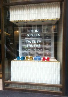 Twenty Truths window display