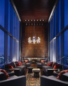 Skybridge Chicago Penthouse | Designed By Wheeler Kearns Architects  Architecture Interior Design, Architecture Details,