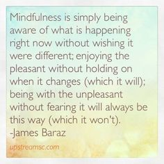mindfulness is simply being aware - Google Search