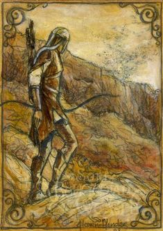 The Crebain From Dunland by Soni Alcorn-Hender [©2008]