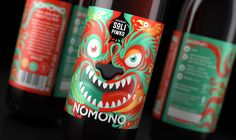 NOMONO NZ Freestyle APA label design