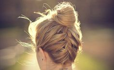 Here is a simple hairstyle that will keep your hair in place, and make you look…