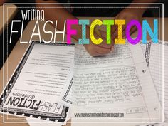 Teachers, have you tried having your students write Flash Fiction! You will LOVE it (and they will, too)!!