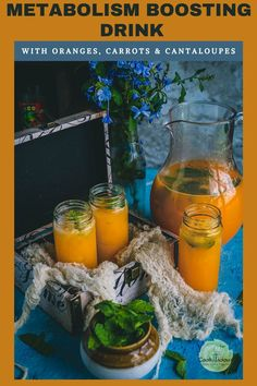 A delicious juice that's bursting with flavors from orange, carrot, and cantaloupe with no added sugar! Kickstart your day with this organic energy drink or juice cleanse recipe! It helps that you can make this vegan drink in just 10 minutes! #juicecleanse #orange #carrot #cantaloupe #juice #vegan #energydrink #detox #weightloss #metabolismboosting #fruitjuice #sugarfree #energydrink #organic #homemade #vitamins Healthy Asian Recipes, Vegetarian Recipes, Carrot Skin, Sugar Free Juice, Organic Energy Drinks, Juice Cleanse Recipes, Organic Homemade, Freshly Squeezed Orange Juice, Post Workout Snacks