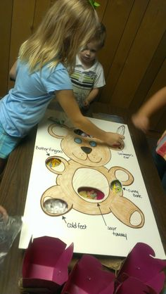 Teddy Bear Operation Game for Doc McStuffins party